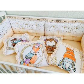 Комплект в кроватку 'Мозайка'
