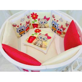 Игровой коврик-сумка 3 Sprouts Розовый слоник