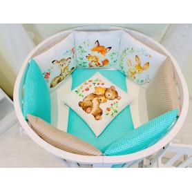 Игровой коврик-сумка 3 Sprouts Синий кит